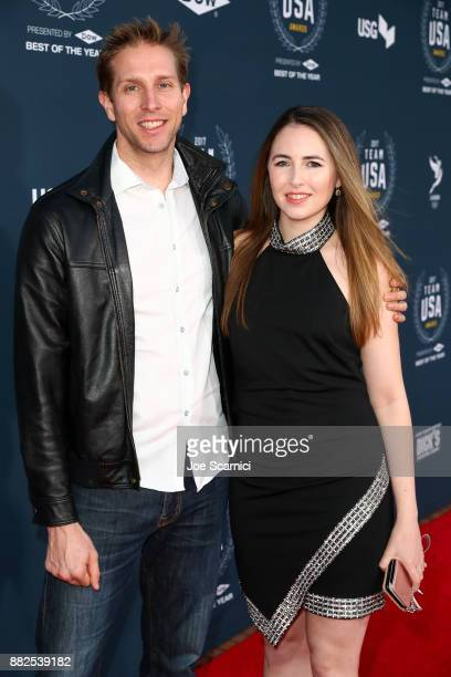 Cody Mattern Tasha Hall attends the 2017 Team USA Awards on November 29 2017 in Westwood California