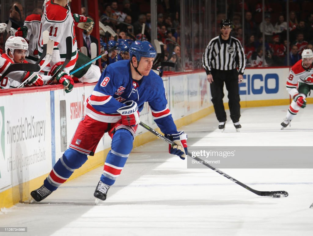 New York Rangers v New Jersey Devils : News Photo