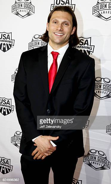 Cody Miller arrives to the 2016 Golden Goggles Awards at the Marriott Marquis Hotel on November 21 2016 in New York City