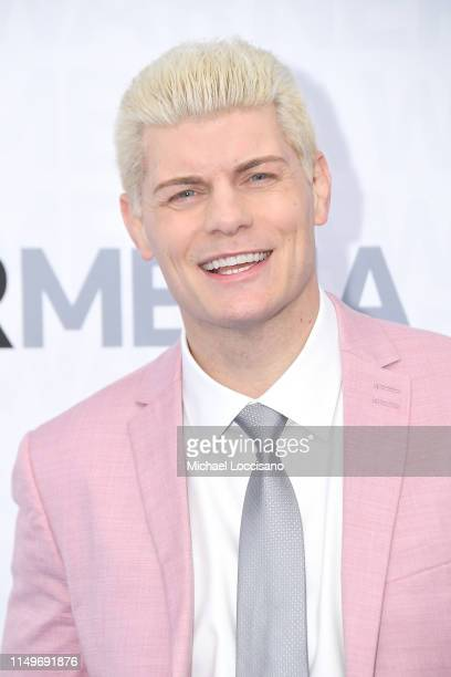 Cody Rhodes attends the WarnerMedia 2019 Upfront at One Penn Plaza on May 15 2019 in New York City
