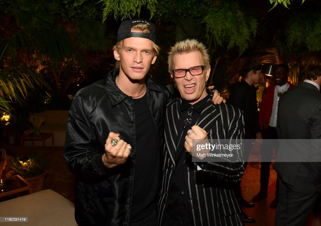 2019 GQ Men Of The Year Celebration At The West Hollywood EDITION - Inside : News Photo