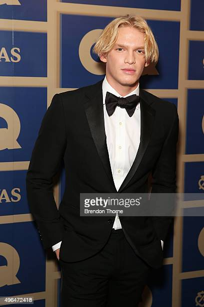 Cody Simpson arrives ahead of the 2015 GQ Men Of The Year Awards on November 10 2015 in Sydney Australia