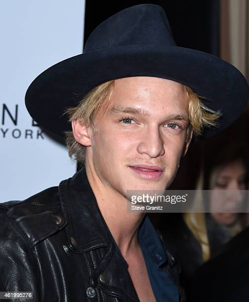 Cody Simpson arrives at the The Daily Front Row's 1st Annual Fashion Los Angeles Awards at Sunset Tower Hotel on January 22 2015 in West Hollywood...
