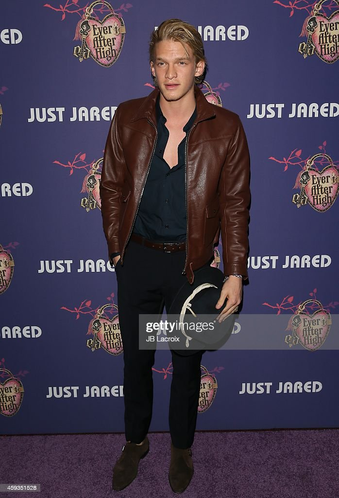 Cody Simpson attends the Just Jared's Homecoming Dance at the El Rey Theater on November 20, 2014 in Los Angeles, California.