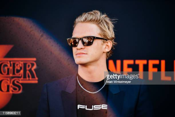 Cody Simpson attends the premiere of Netflix's Stranger Things Season 3 on June 28 2019 in Santa Monica California