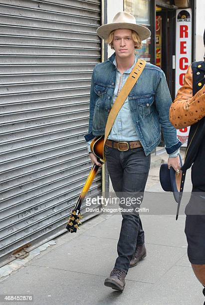 Cody Simpson is seen on April 02 2015 in New York City
