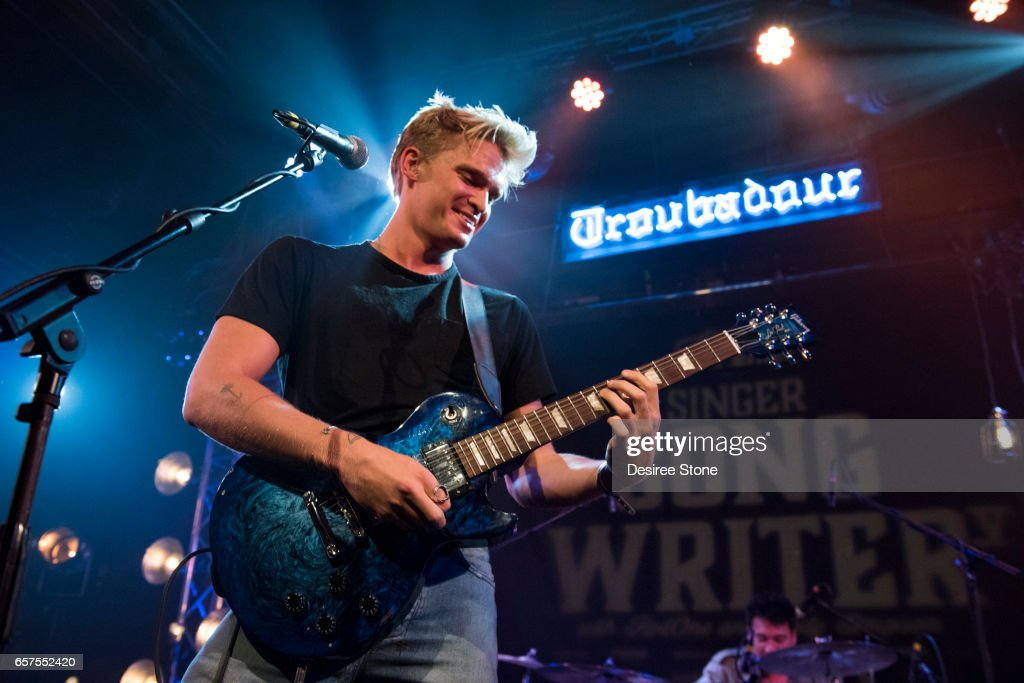 Cody Simpson performs at Guitar Center's Sixth Annual Singer-Songwriter Grand Finale at Troubadour on March 24, 2017 in West Hollywood, California.