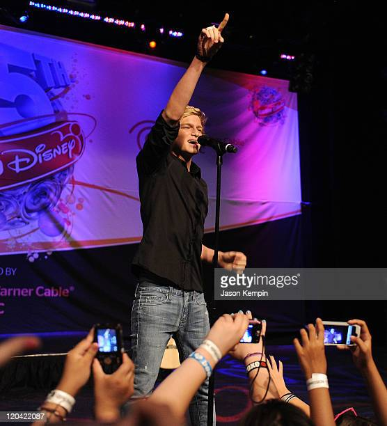 Cody Simpson performs at Radio Disney's Birthday Jam at the Hard Rock Cafe - Times Square on August 5, 2011 in New York City.