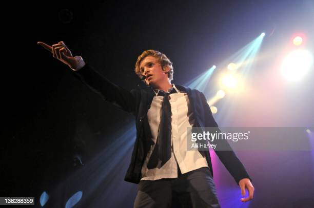 Cody Simpson performs at the Gramercy Theatre on February 4, 2012 in New York City.