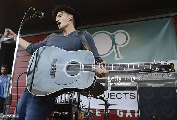 Cody Simpson performs at the Scooter Braun Projects Sunday Funday Showcase at on March 9 2014 in Austin Texas