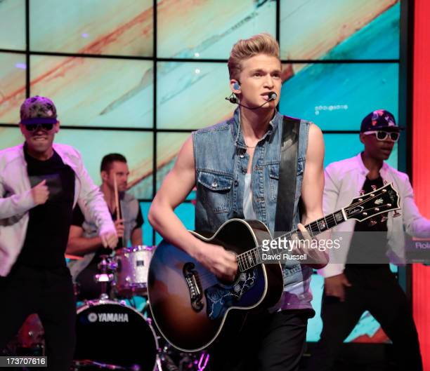 MICHAEL 7/16/13 Cody Simpson performs on LIVE with Kelly and Michael distributed by DisneyWalt Disney Television via Getty Images Domestic Television...