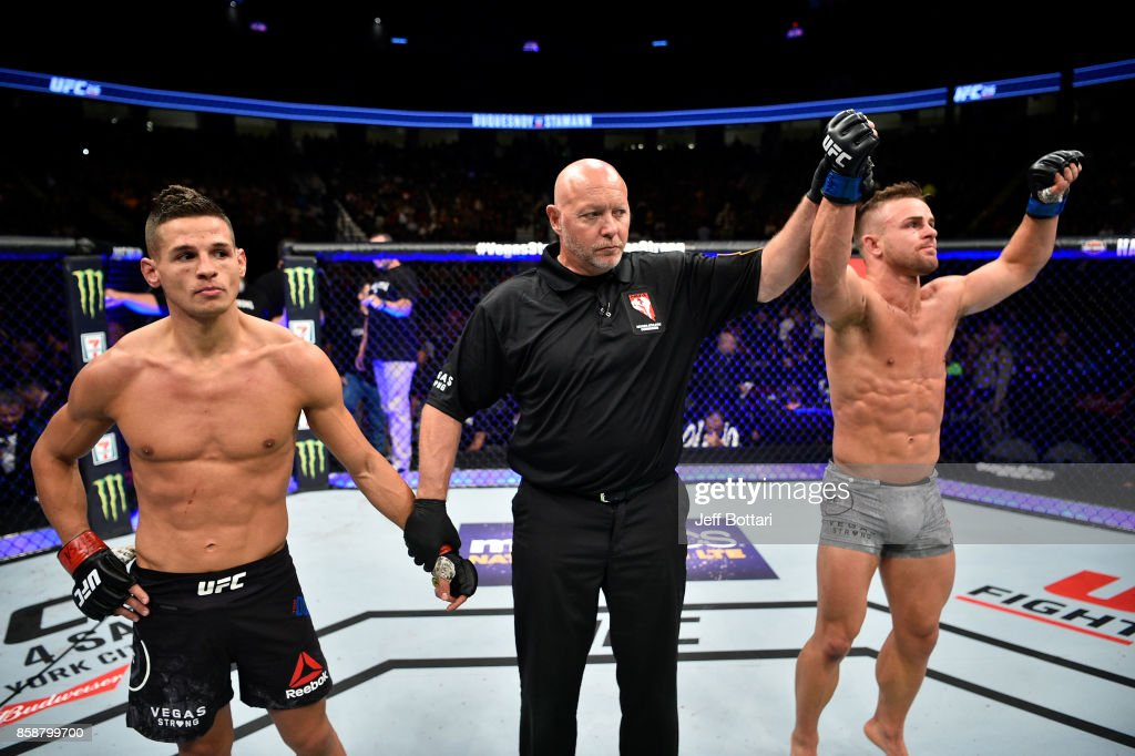 UFC 216: Duquesnoy v Stamann : News Photo