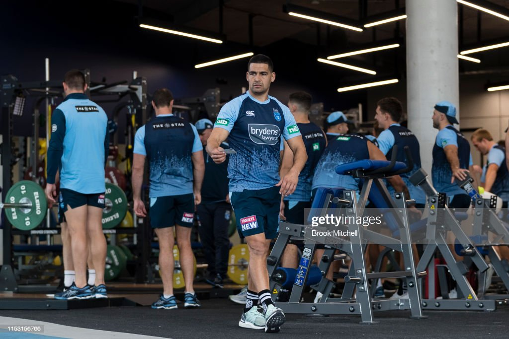 NSW Blues Training Session : News Photo