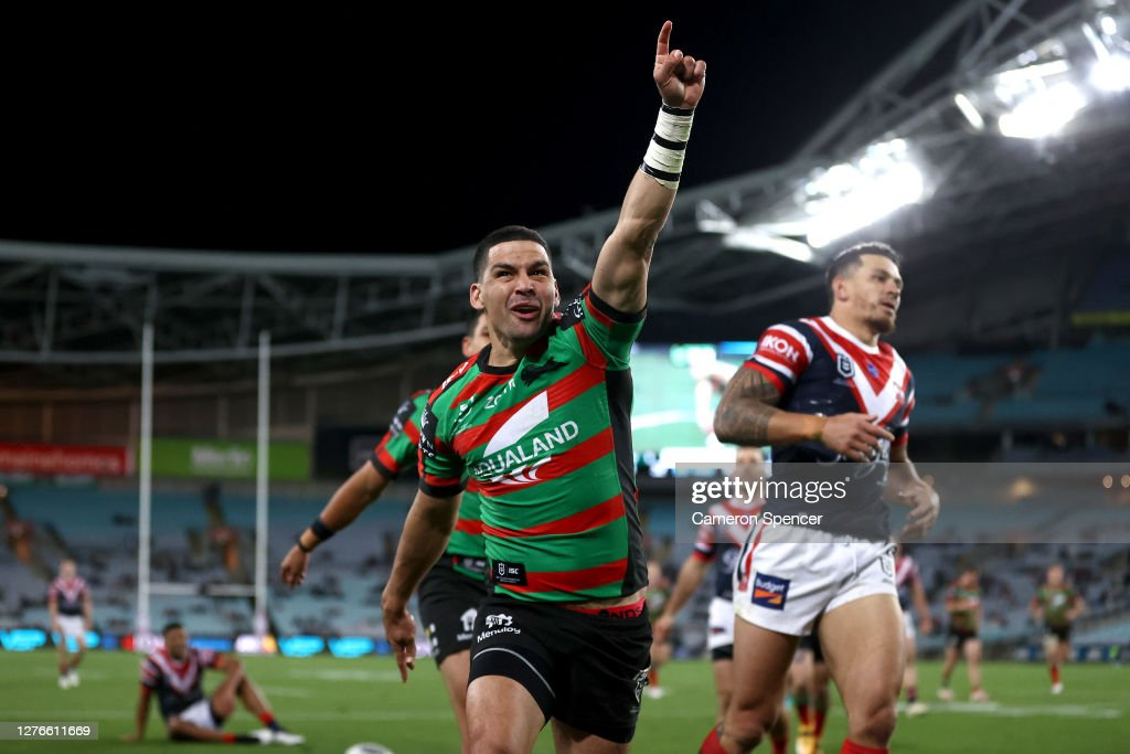 NRL Rd 20 - Rabbitohs v Roosters : News Photo