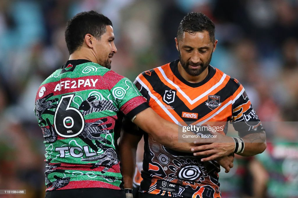 NRL Rd 11 - Rabbitohs v Tigers : News Photo