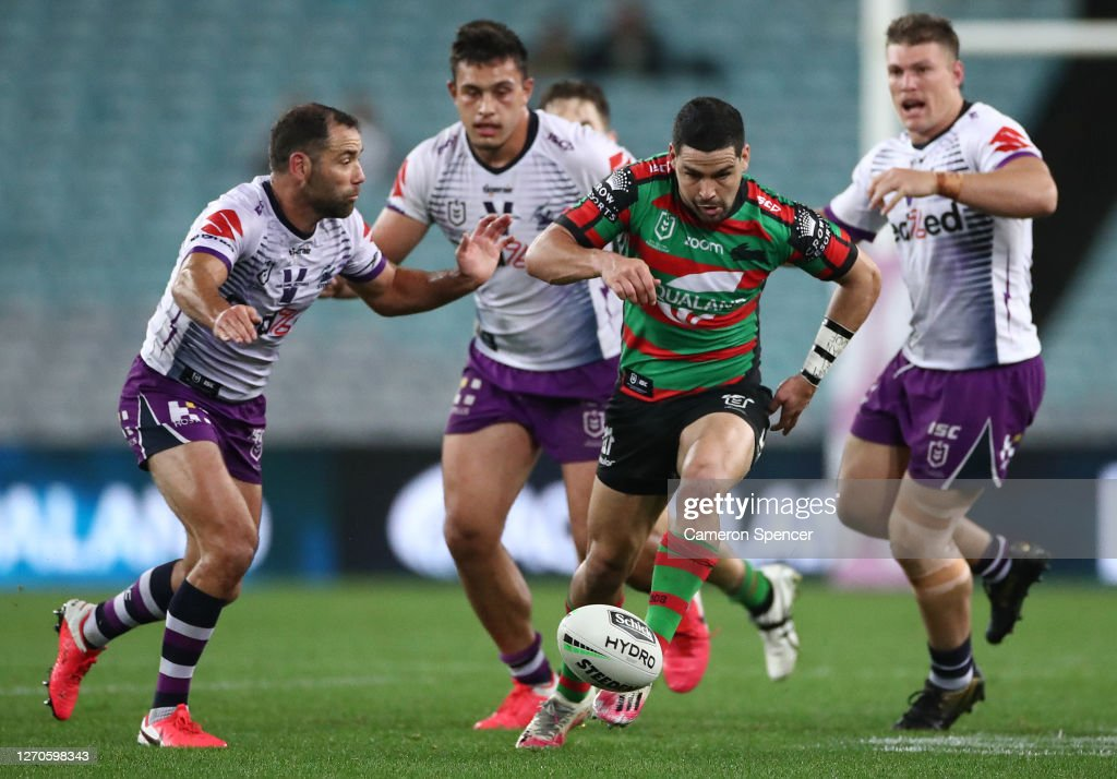 NRL Rd 17 - Rabbitohs v Storm : News Photo