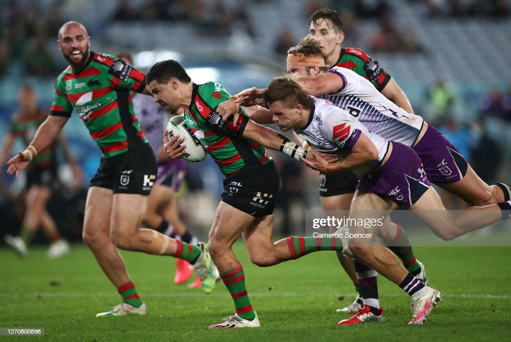 Cody Walker Of The Rabbitohs Runs With The Ball During The Round 17 News Photo Getty Images