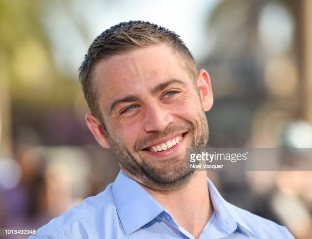 Cody Walker visits Extra at Universal Studios Hollywood on August 8 2018 in Universal City California