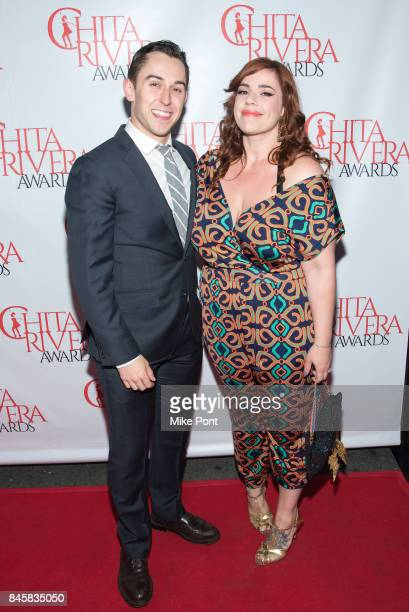 Cody Williams and Alysha Umphress attend the 2017 Chita Rivera Awards at Al Hirschfeld Theatre on September 11 2017 in New York City