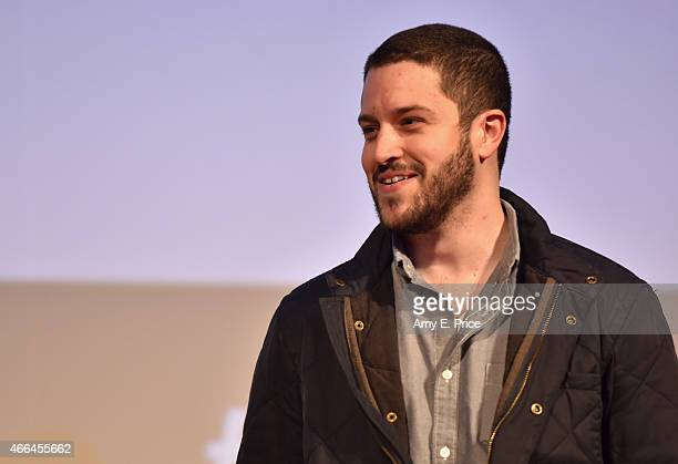 Cody Wilson speaks onstage at the premiere of Deep Web during the 2015 SXSW Music Film Interactive Festival at the Austin Convention Center on March...