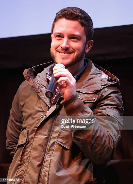 Cody Wilson speaks onstage at the Print the Legend Photo Op and QA during the 2014 SXSW Music Film Interactive Festival at Austin Convention Center...