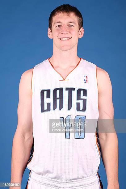 Cody Zeller of the Charlotte Bobcats poses for media day at the Time Warner Cable Arena on September 20 2013 in Charlotte North Carolina NOTE TO USER...