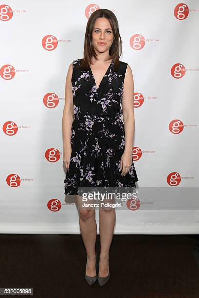 Coemcee Alicia Menendez Anchor and Special Correspondent at Fusion attends Girls Write Now Awards on May 17 2016 in New York City