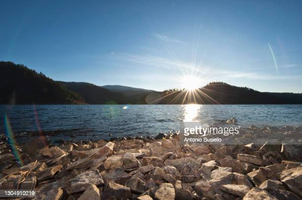 coeur d'alene lake - north stock pictures, royalty-free photos & images