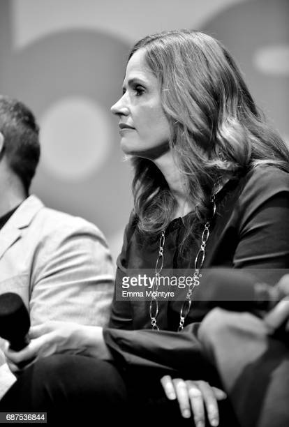 CoExecutive Producer Alison Camillo speaks onstage at the Full Frontal with Samantha Bee FYC Event 2017 LA at the Samuel Goldwyn Theater on May 23...