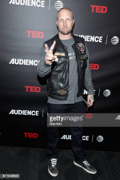 Coexecutive producer River Rainbow Hagg attends ATT AUDIENCE Network's The Volunteers premiere event on November 6 2017 in New York City