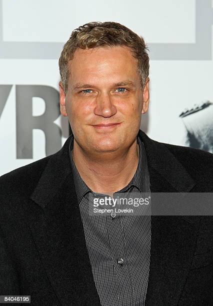 Coexecutive producer/composer John Ottman attends the premiere of Valkyrie at Rose Hall inside the Time Warner Center on December 15 2008 in New York...