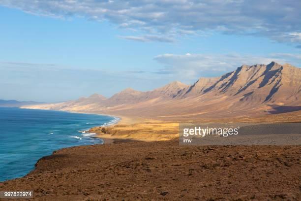cofete montanhas time lapse vídeo, fuerteventura - geografia física - fotografias e filmes do acervo
