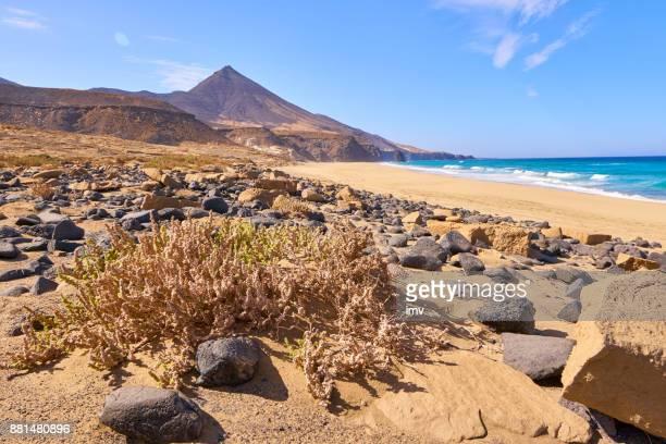 Cofete's Beach, Roque Moro and Montaña aguda