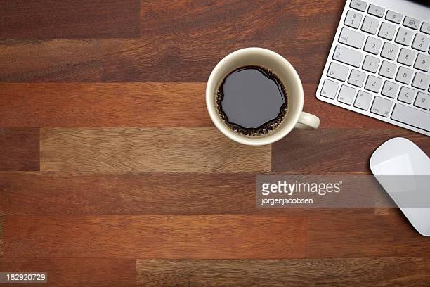 Kaffeepause bei der Arbeit