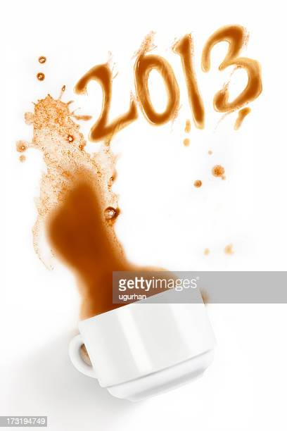coffee 2013 - 2012 2013年 キプロス財政危機 stock pictures, royalty-free photos & images