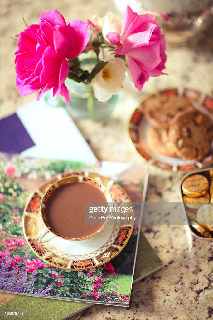 Coffee and Biscuits : Stock Photo