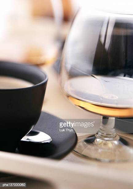 Coffee and Cognac, close-up.