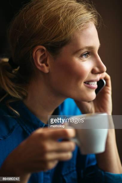 Koffie en gesprek