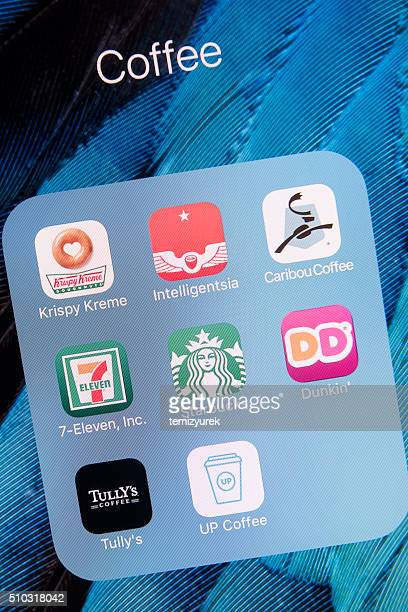 Coffee Apps on Apple iPhone 6s Plus Screen