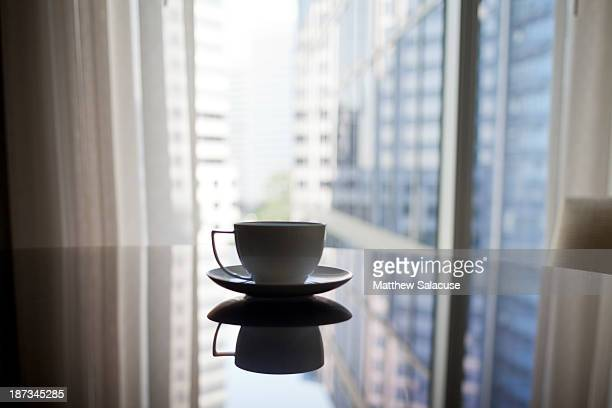 Coffee at a hotel