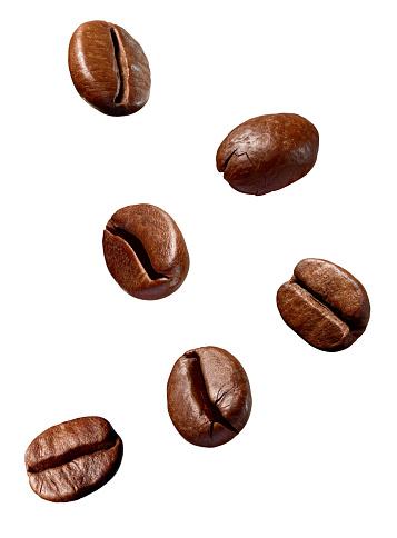 coffee bean brown roasted caffeine espresso seed 1073182742