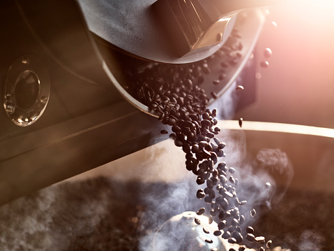 Coffee beans after roasting - gettyimageskorea