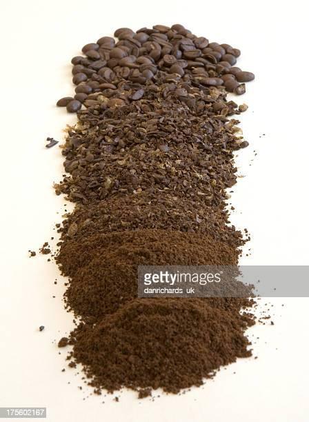 コーヒー豆と敷地