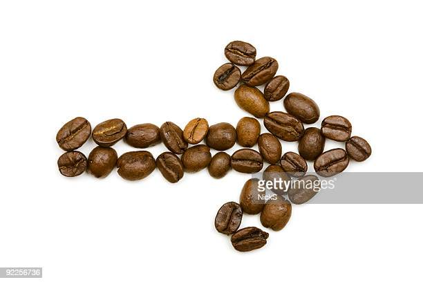 Coffee Beans - Arrow