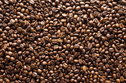 Coffee beans background 1163872551
