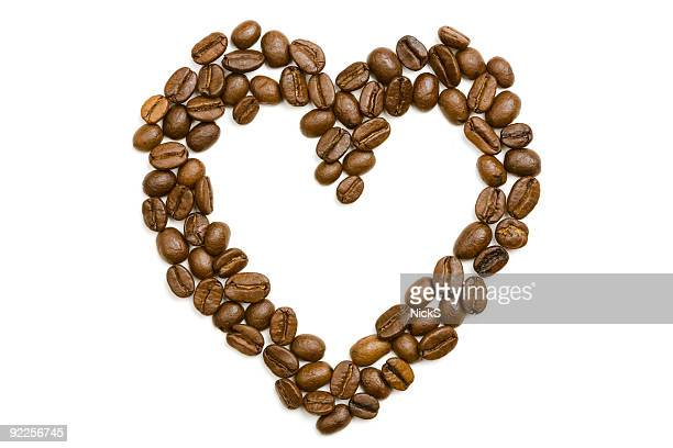 Coffee Beans - Heart Shape