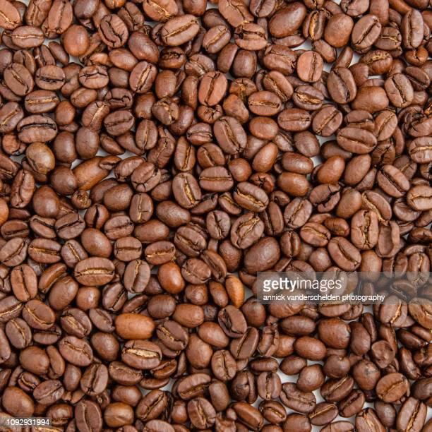 coffee beans - couches superposées photos et images de collection
