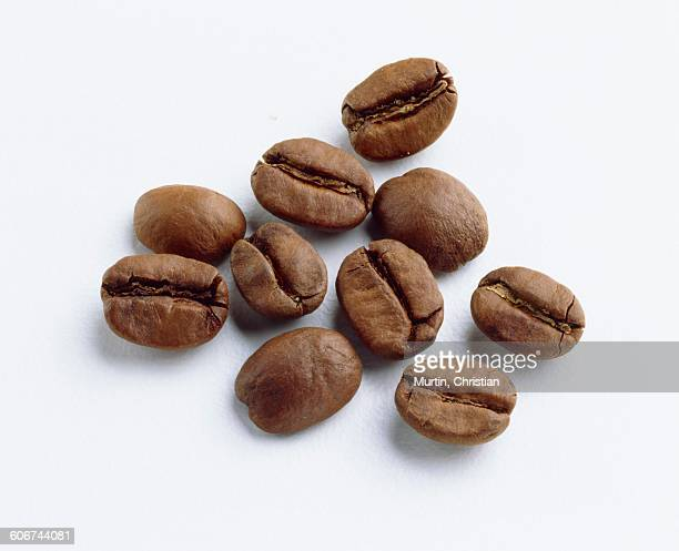coffee beans - chestnut food stock pictures, royalty-free photos & images