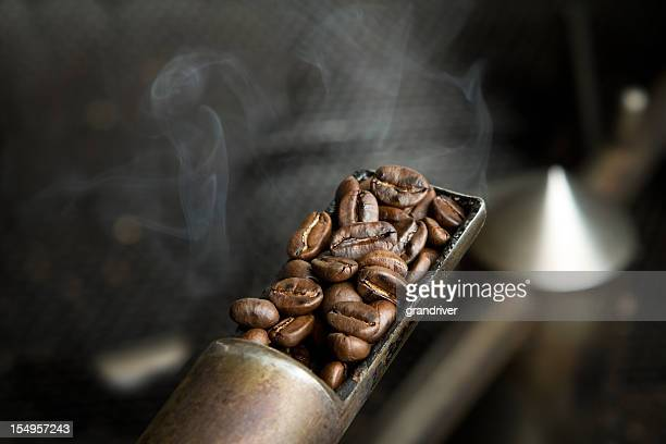 Coffee Beans Roasting Sample