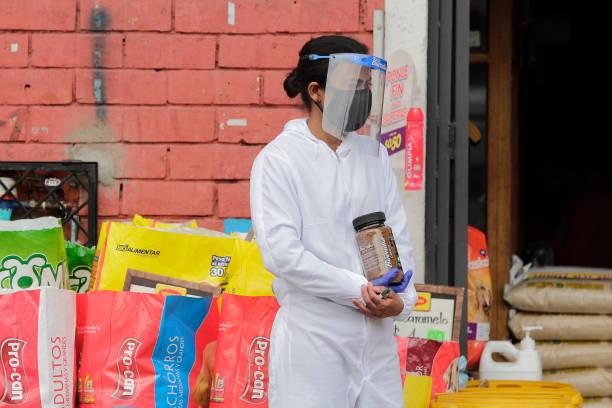 ECU: Wholesale Market In Quito Amid Coronavirus Pandemic